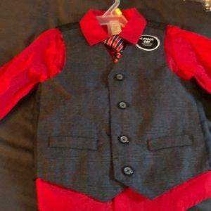 4 piece vest set 3T